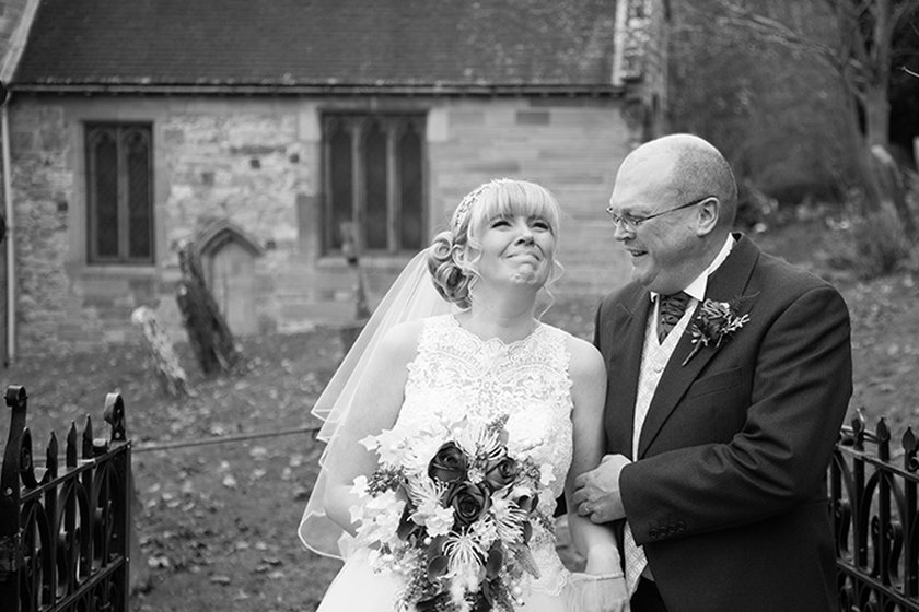 Wedding photography at Ardencote Manor