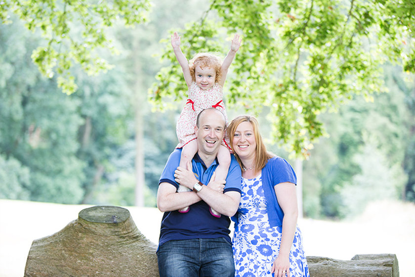 Fun, relaxed and naturel portrait photography in Worcestershire