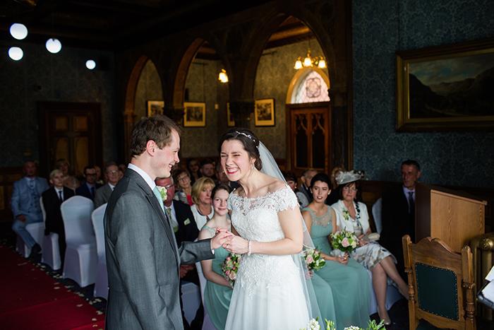 Wedding photography at Highbury Hall, Birmingham