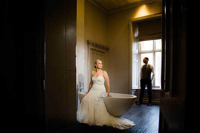 Wedding photography at Walton Hall.