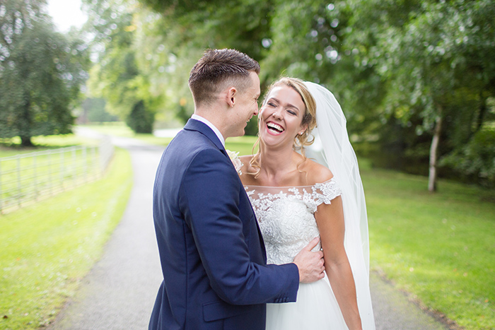 Wedding Photography at Brockencote Hall