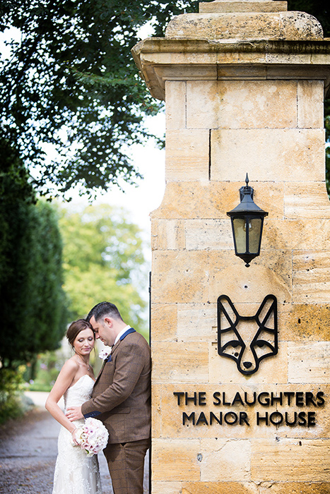Wedding photography at The Slaughters Manor.