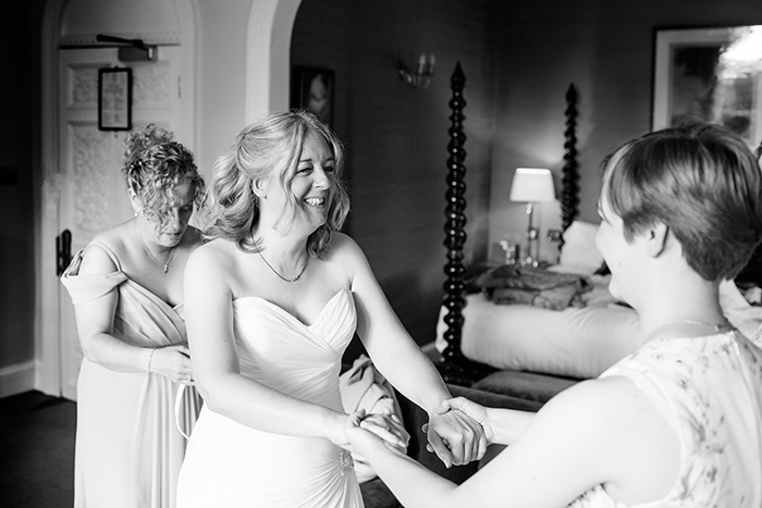 Wedding photography at Ettington Park Hotel.