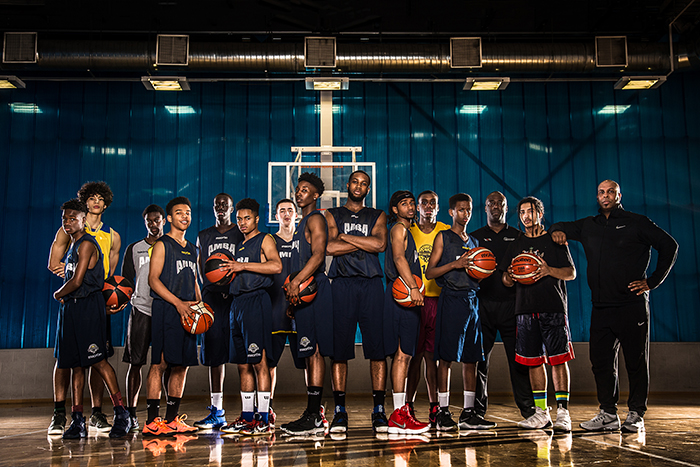 All City Basketball Photo Shoot