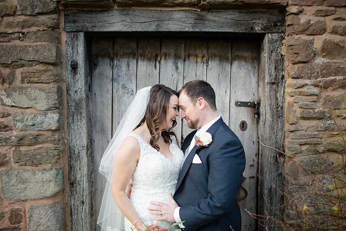 Wedding photography at Dewsall Court, Herefordshire.