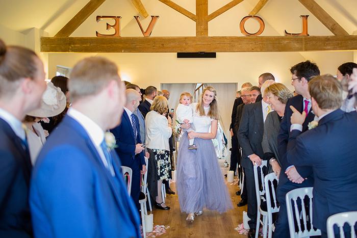 Wedding photography at Bordesley Park Farm
