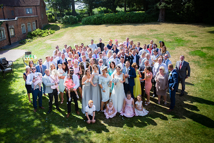 Wedding Photography at Nailcote Hall