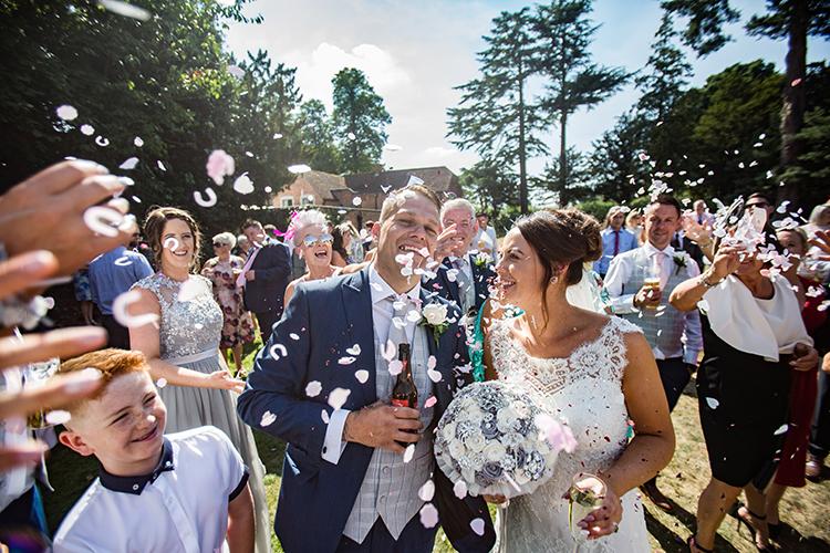 Wedding Photography at Nailcote Hall