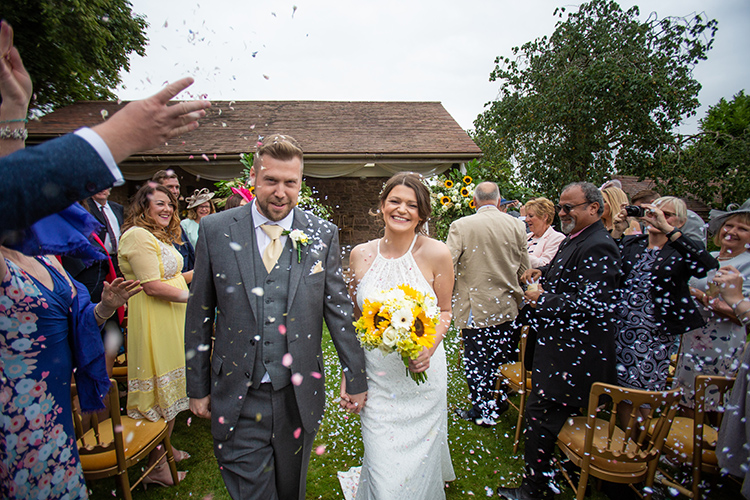 Wedding photography at Lyde Arundel.
