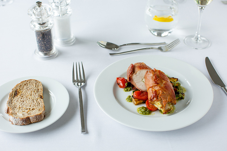 Food photography at Manor Hill House