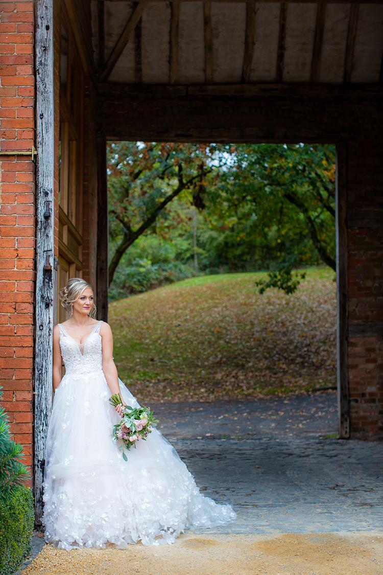 Wedding photography at Gorcott Hall.