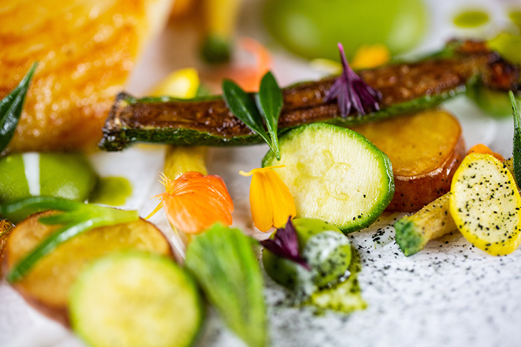 Food Photography at Mallory Court