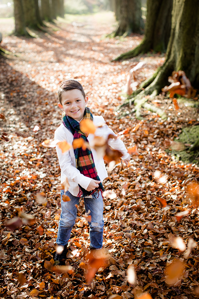 Family portrait shoot in the Lickey Hills.