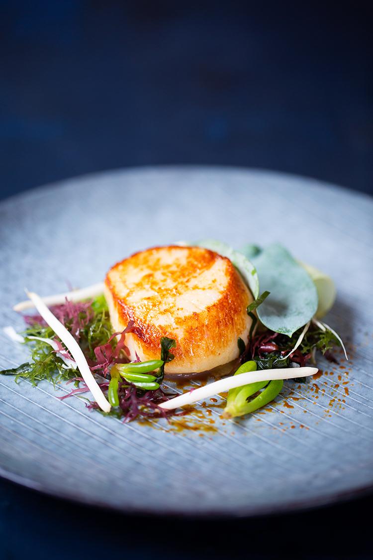 Paul Fosters, Michelin stared restaurant, Salt in Startford Upon Avon.