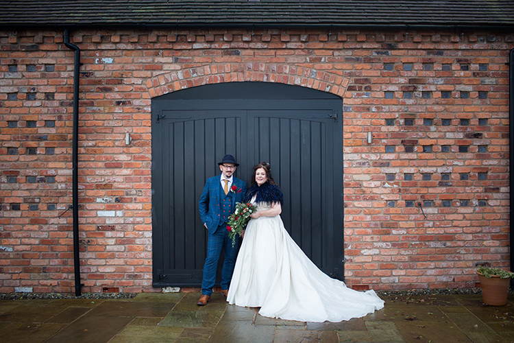 Wedding photography at Curradine Barns.