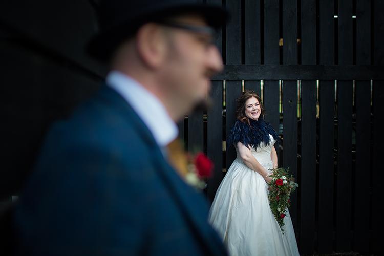 Wedding photography at Curradine Barns.