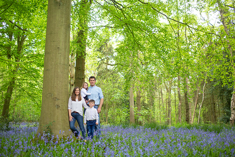 Bluebells family shoot