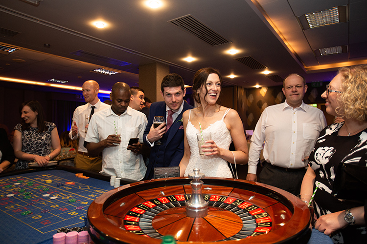Wedding casino.