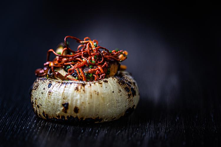 Mushroom dish at Craft Dining