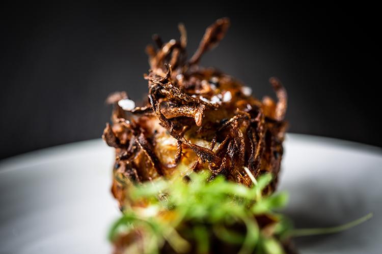 Onion Bajji at Craft Dining
