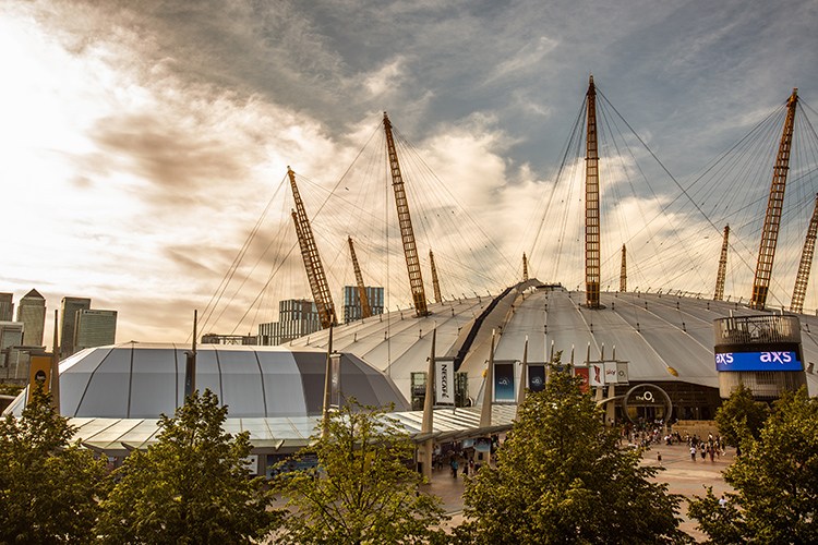 Fews Marquees at The O2