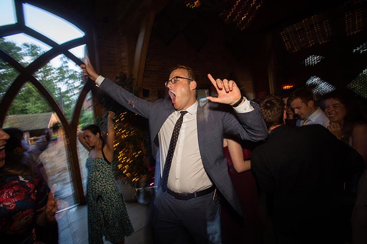 Guest Dancing.