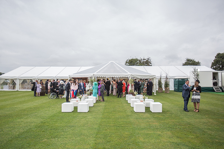 Fews Marquees wedding marquee.