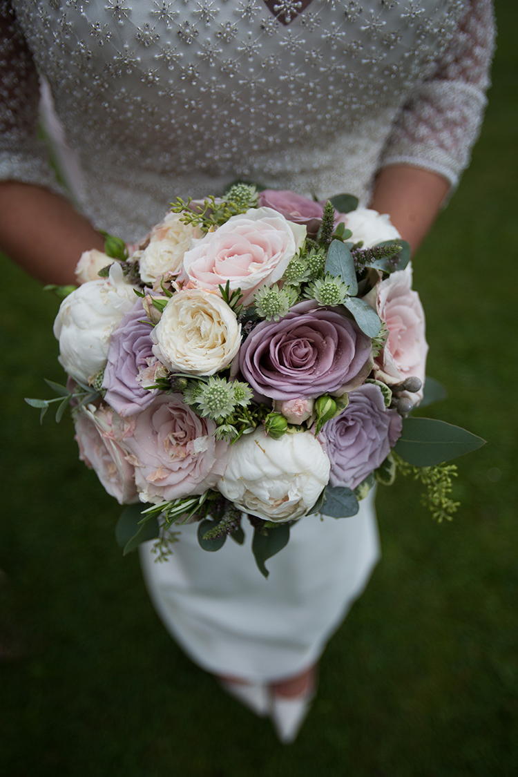 The Bride's flowers.