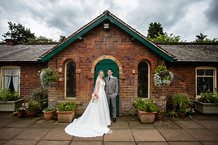 Wedding photography at Arley House.