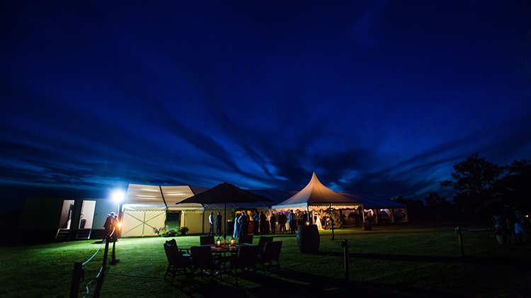 Wedding photography with Fews Marquees.