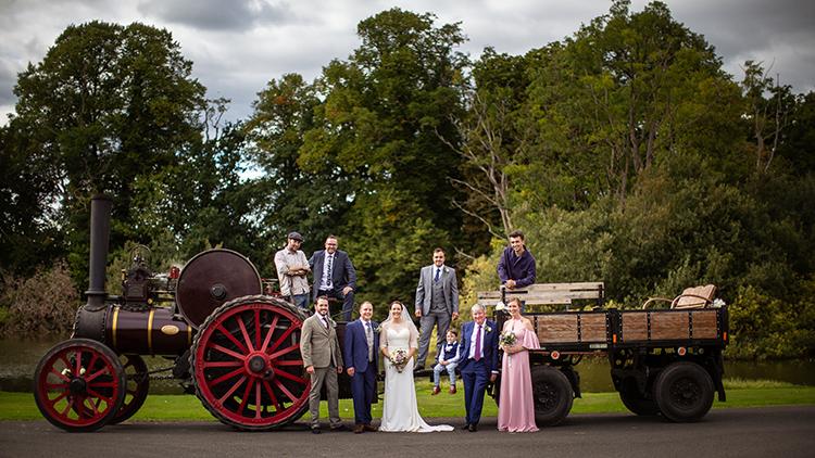 Wedding Photography at Brockencote Hall.