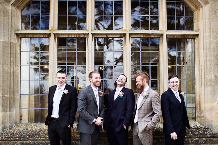 Wedding photography at Dumbleton Hall