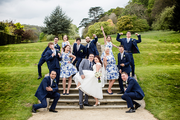 Wedding photography at Dumbleton Hall