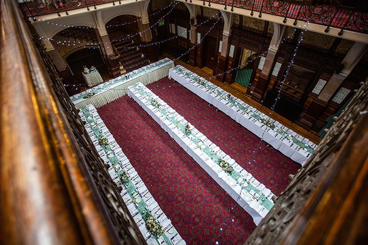 Wedding photography at Highbury Hall.