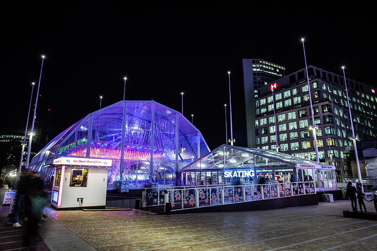 Birmingham Ice Rink by Fews Marquees