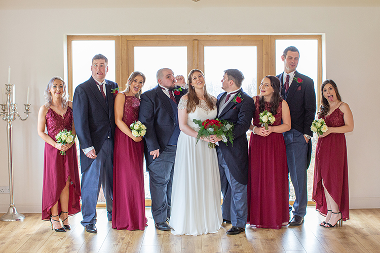 Wedding photography at Bordesley Park