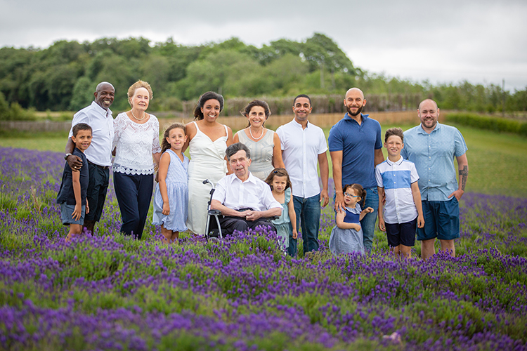 Family Photo Shoot at The Lavender Fields.