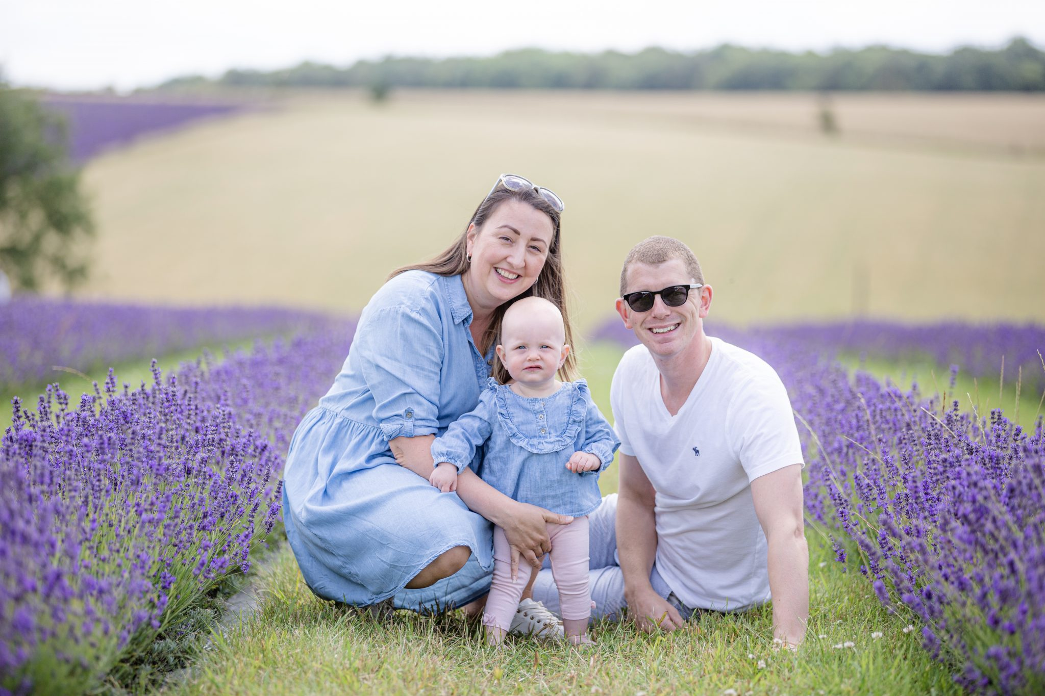 Family Portrait Shoot at The Lavender Fields