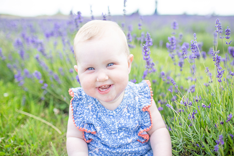 Katie & Mark's Family Portrait Shoot at The Lavender Fields.