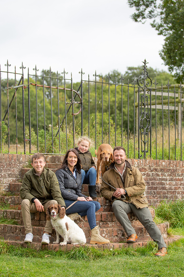 Clarke's Family Photo Shoot at Packwood House.