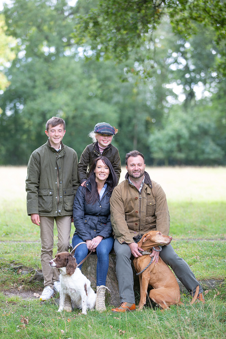 Clarke's Family Photo Shoot at Packwood House.