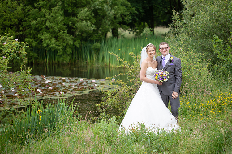 Wedding photography at The Abbey Hotel.