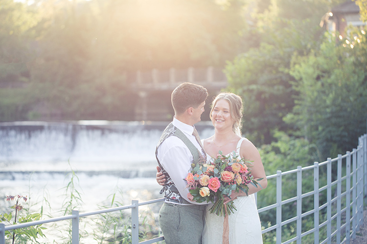 Wedding photography at The West Mill.